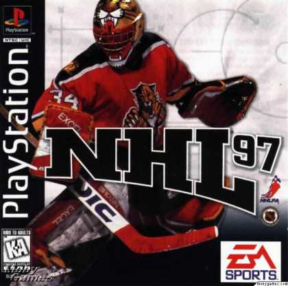 PlayStation Games - NHL 97