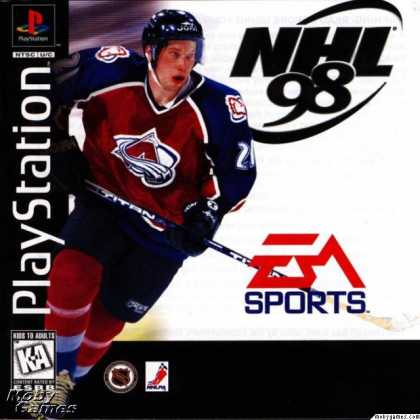 PlayStation Games - NHL 98