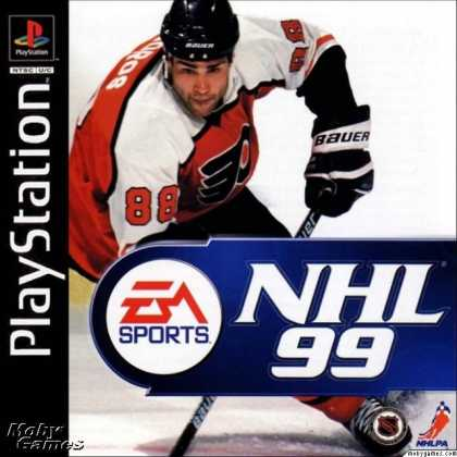 PlayStation Games - NHL 99