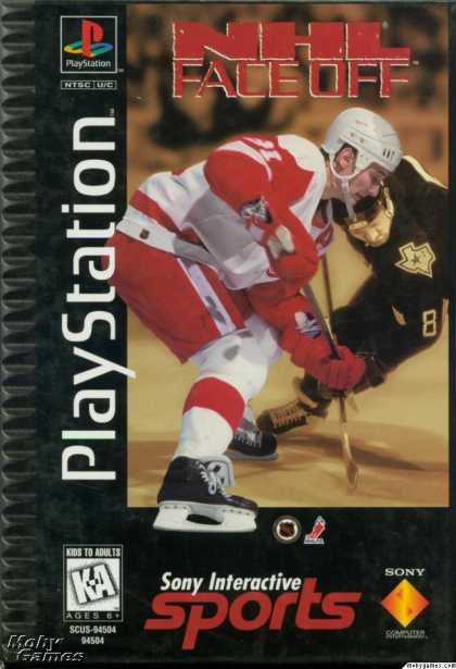 PlayStation Games - NHL FaceOff
