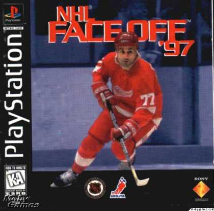 PlayStation Games - NHL FaceOff '97