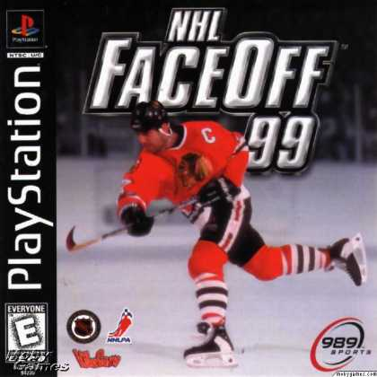PlayStation Games - NHL FaceOff '99