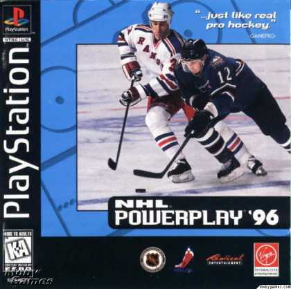 PlayStation Games - NHL Powerplay '96