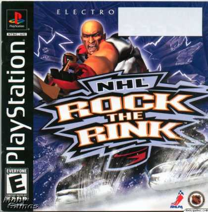 PlayStation Games - NHL Rock the Rink