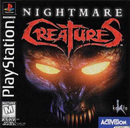 PlayStation Games - Nightmare Creatures