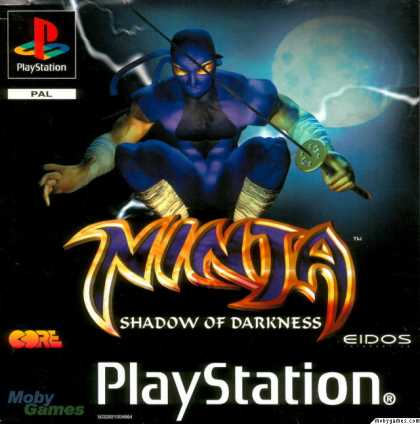 PlayStation Games - Ninja: Shadow of Darkness