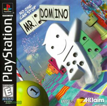 PlayStation Games - No One Can Stop Mr. Domino