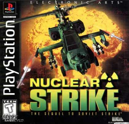 PlayStation Games - Nuclear Strike