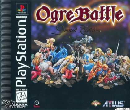 PlayStation Games - Ogre Battle