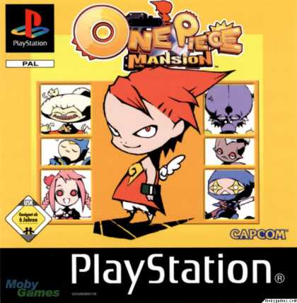 PlayStation Games - One Piece Mansion