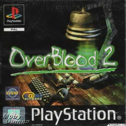 PlayStation Games - OverBlood 2