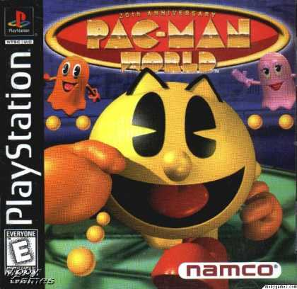 PlayStation Games - Pac-Man World