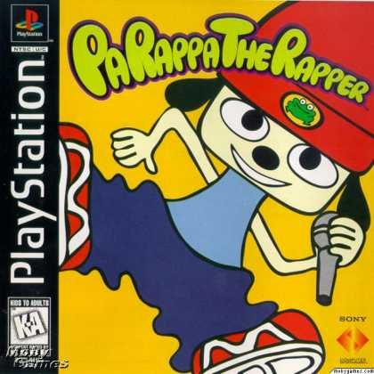 PlayStation Games - PaRappa the Rapper