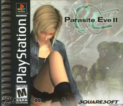 PlayStation Games - Parasite Eve II