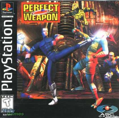 PlayStation Games - Perfect Weapon