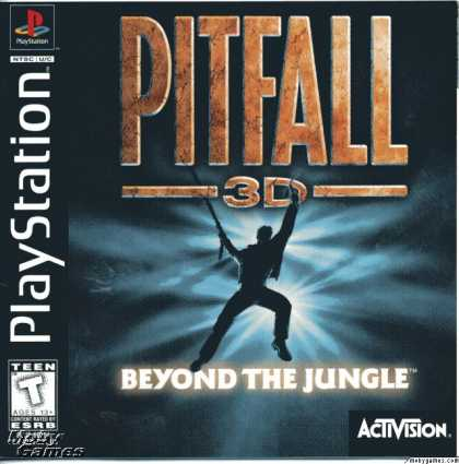 PlayStation Games - Pitfall 3D: Beyond the Jungle