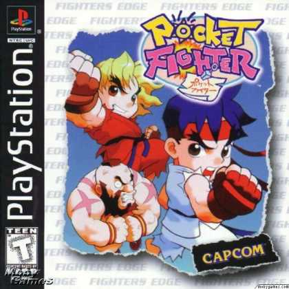PlayStation Games - Pocket Fighter