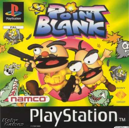 PlayStation Games - Point Blank