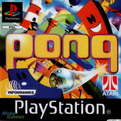 PlayStation Games - Pong: The Next Level
