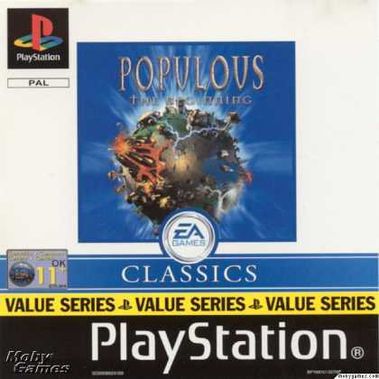 PlayStation Games - Populous: The Beginning