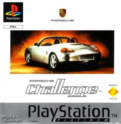 PlayStation Games - Porsche Challenge