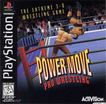 PlayStation Games - Power Move Pro Wrestling
