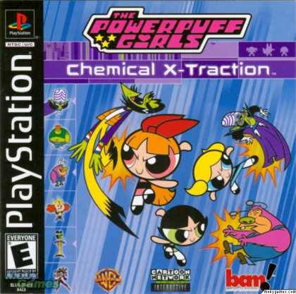 PlayStation Games - The Powerpuff Girls: Chemical X-Traction