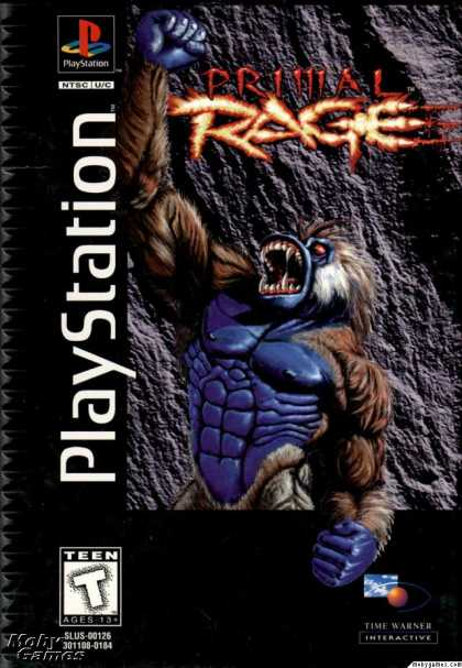 PlayStation Games - Primal Rage