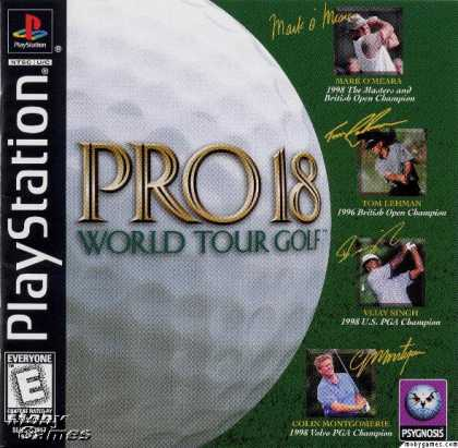 PlayStation Games - Pro 18 World Tour Golf