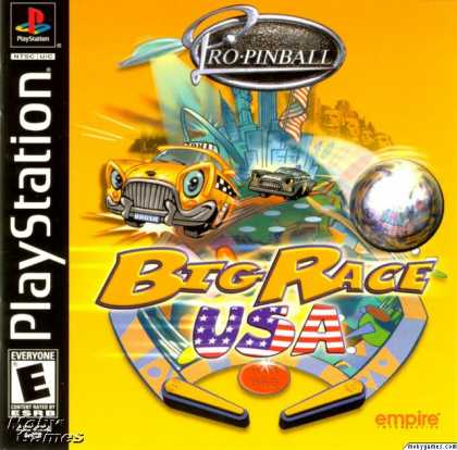 PlayStation Games - Pro Pinball: Big Race USA