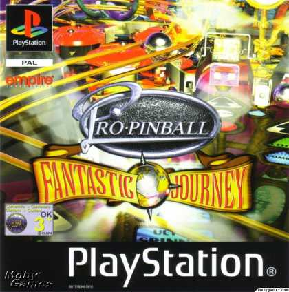 PlayStation Games - Pro Pinball: Fantastic Journey
