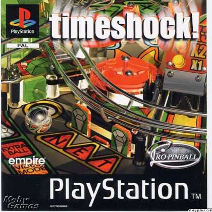 PlayStation Games - Pro Pinball: Timeshock!