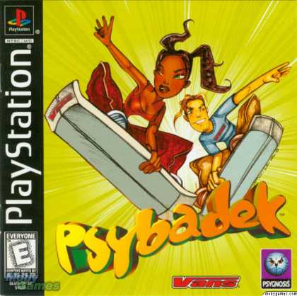 PlayStation Games - Psybadek