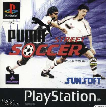 PlayStation Games - Puma Street Soccer