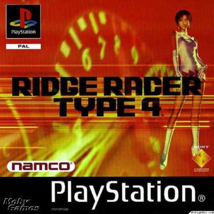 PlayStation Games - R4 Ridge Racer Type 4
