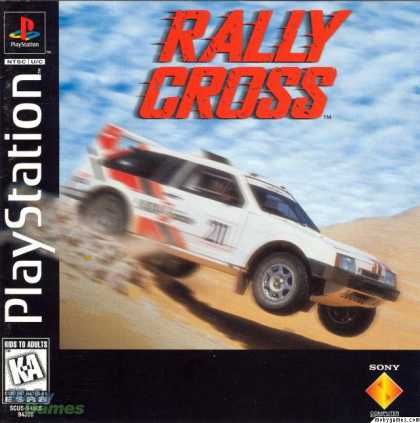 PlayStation Games - Rally Cross