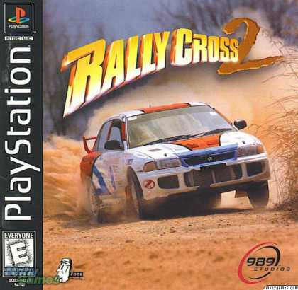 PlayStation Games - Rally Cross 2