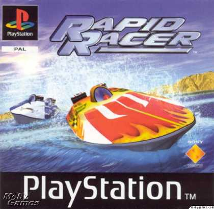 PlayStation Games - Rapid Racer