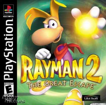 PlayStation Games - Rayman 2: The Great Escape