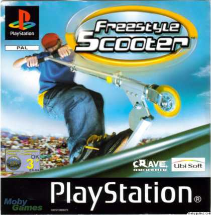 PlayStation Games - Razor Freestyle Scooter