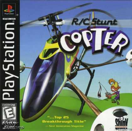PlayStation Games - R/C Stunt Copter