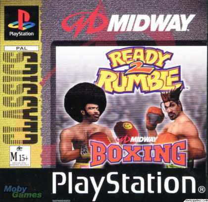 PlayStation Games - Ready 2 Rumble Boxing