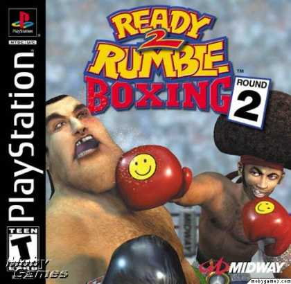 PlayStation Games - Ready 2 Rumble Boxing: Round 2