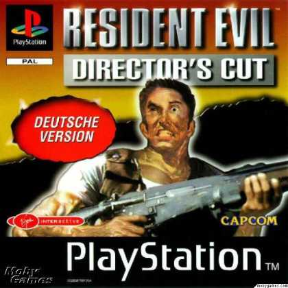 PlayStation Games - Resident Evil: Director's Cut