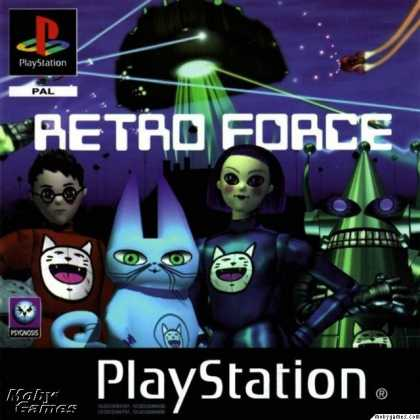 PlayStation Games - Retro Force