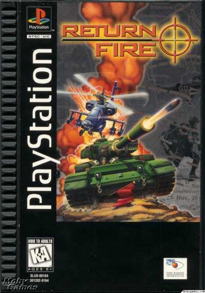 PlayStation Games - Return Fire