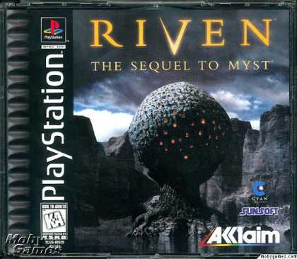PlayStation Games - Riven: The Sequel to Myst
