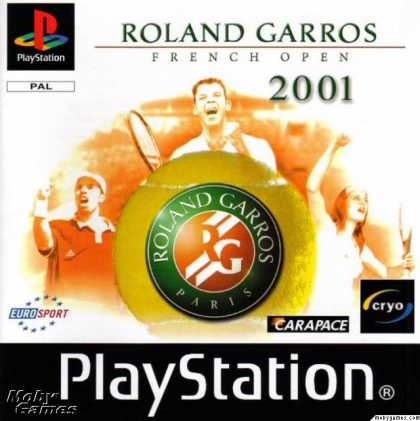 PlayStation Games - Roland Garros French Open 2001