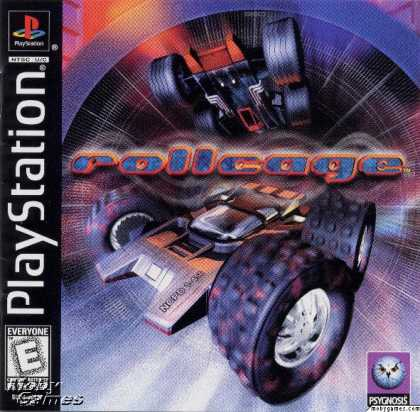 PlayStation Games - Rollcage