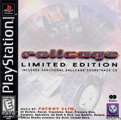 PlayStation Games - Rollcage: Limited Edition